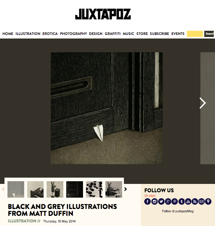 juxtapoz screenshot